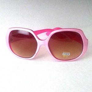 Pink Neon Trendy Sunglasses UV400 Protection